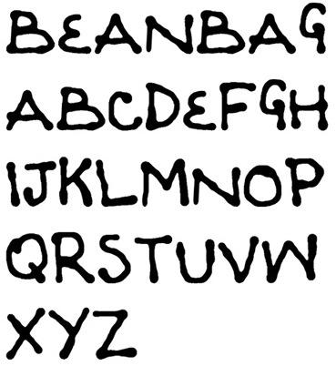 BeanBags Font