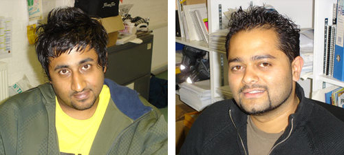 Anuj and Denesh