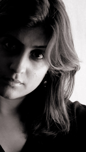 Radhika Raj : self portrait