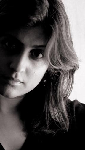 Radhika Raj : self portrait