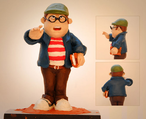 Clay Model character, by Pencil Sauce