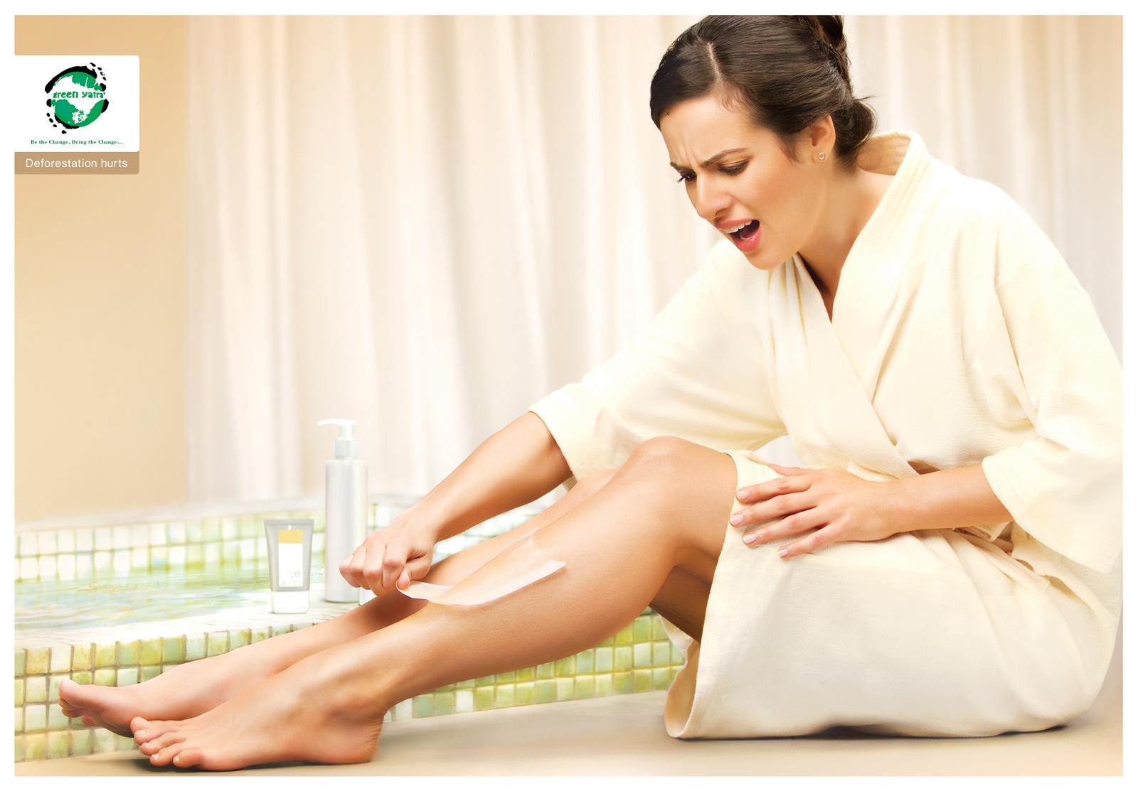 Как сделать домашнюю эпиляцию без боли
