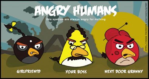 angry humans