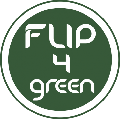Flip for Green cover design