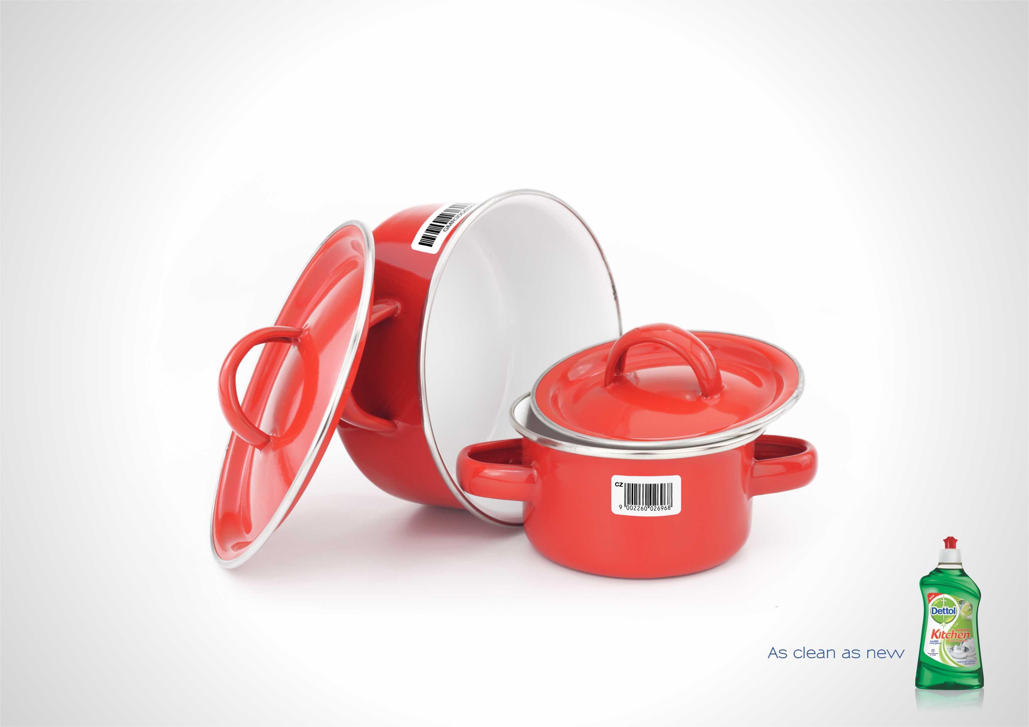 Dettol Healthy Kitchen Dish Slab Gel By Havas DesiCreative