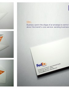 FedEx spec work