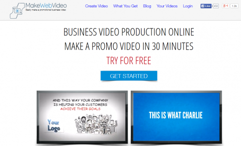 makewebvideo home page