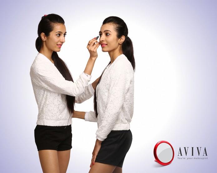 Print ad for Aviva Mirror 2