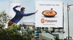 Billboard for Paradise Restaurant by Doo Creative