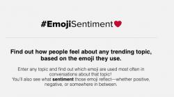 #EmojiSentime : Observing Sentiments of Emojis