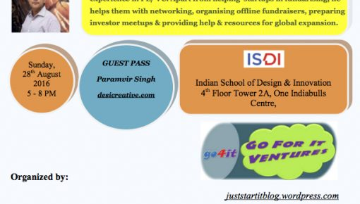 Understanding Crowd Funding with Satish Kataria