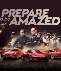 Prepare to be amazed by Mazda : BBR Saatchi & Saatchi