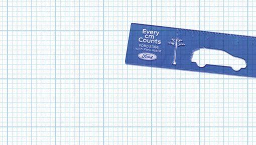 Ford Edge Ruler by BBR Saatchi & Saatchi