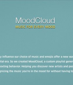 Playlists Controlled By Your Mood : Soundcloud by Miami Ad School