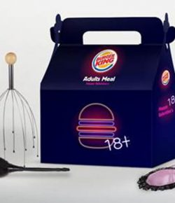 Valentine's Adult Meal : Burger King by Leo Burnett