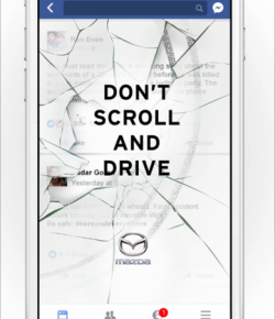 Mazda : Don't Scroll And Drive by BBR Saatchi & Saatchi