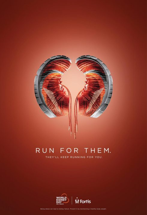 Fortis World Kidney Day by Grey