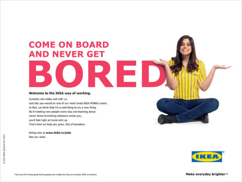 Ikea Ad by Dentsu