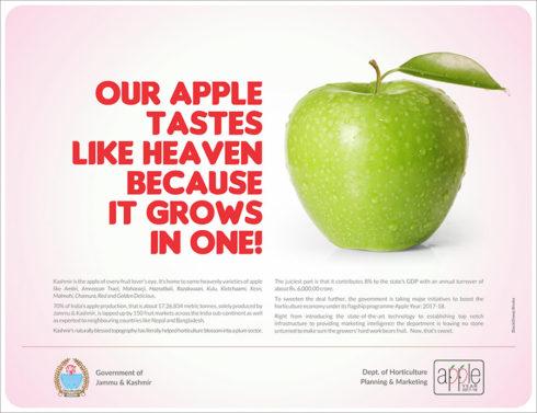 Govt Jammu and Kashmir ad by Blacksheep.Works